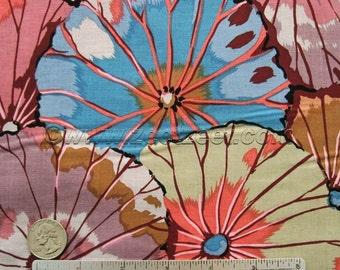 Kaffe Fassett LOTUS LEAF Mauve - Cotton Quilt Fabric by the Yard, Half Yard, or Fat Quarter Fq Purple