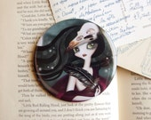 The Witching Hour Pocket Mirror - 3 inches Round
