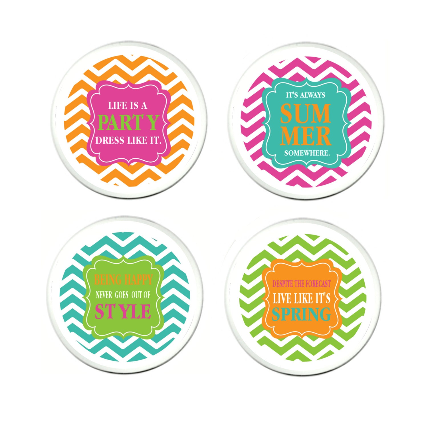 acrylic coasters acrylic drink coasters fun by peachypendants