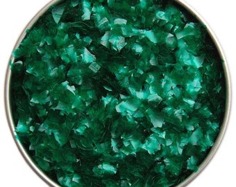 Emerald Green Edible Glitter - sparkly glittery sprinkles for cakes, cupcakes, and cookies