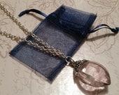 Pink Gem Long Necklace