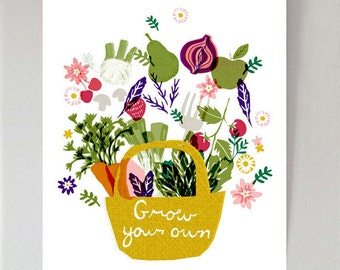 Grow Your Own - art print