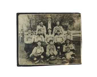 Antique Baseball Photo | St Helena & San Francisco