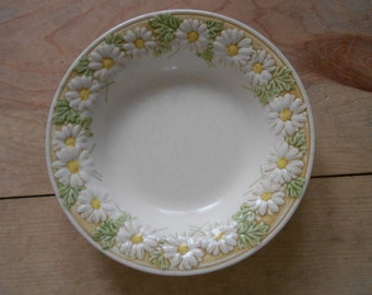 Vintage Poppy Trail Metlox Made in California Daisy Serving Bowl