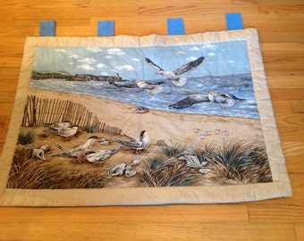 Ocean Scene Quilted Wallhanging