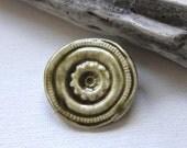 Shawl Pin Sweater Brooch Handmade Porcelain Glazed By Cheldena Ceramic Pottery Jewelry Artisan