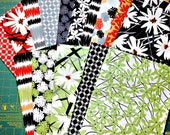 1/2 off Daisy Splash by Jane Dixon for Andover Fabrics. 15  Fat Quarter Bundle Quilt Fabric
