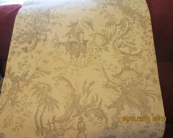 Unique Vintage Oriental Wallpaper 1 roll