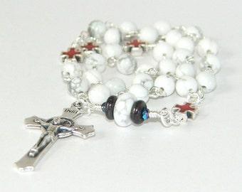 Anglican Rosary Chaplet of Saint Benedict, Christian Prayer Beads