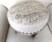 FRENCH TUFFET footstool/ottoman/tuffet/bench/seating furniture