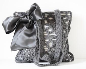 Crochet shoulderbag Gigi