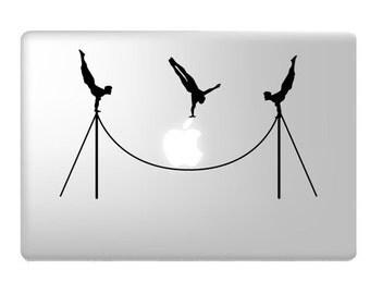 Acrobats Laptop Decal