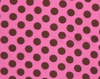 1 yard Peony Ta Dot by Michael Miller