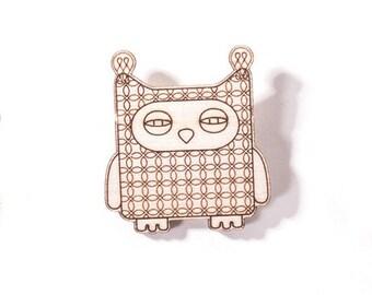 Owl Pin