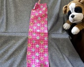 Plastic Bag Holder Sock, Cupcakes on Pink Print