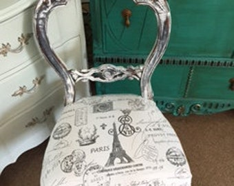 Paris ~ Eiffel Tower Chair