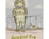 The Loveland Frog Print
