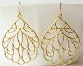 Floral Drop Dangle Earrings Valentine