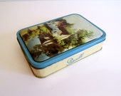 Vintage Tin English Sweets Tin Cottage Suffolk England Willy Lott's Cottage