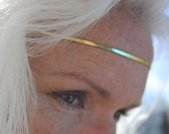 Fairytale Circlet, Gold Crown Jewelry Headband