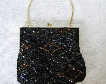Beautiful Hand Beaded Walborg Evening Handbag