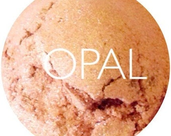 Opal Mineral Eye Shadow • Vegan  Mineral Eyeshadow • Earth Mineral Cosmetics