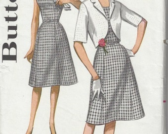 1960s Butterick 2255 Slimliner dress and jacket Bust 37