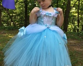 Deluxe Cinderella Tutu Dress - Cinderella Costume - Cinderella Dress