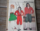 Butterick Girls' Jacket, Blouse, Skirt and Knickers Pattern 4508 size 7-14