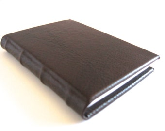 Mini Chestnut Brown Leather Journal