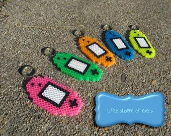 Gameboy Advance Console Keychain // video game keychain // video game gift // pixel sprite art // stocking stuffer