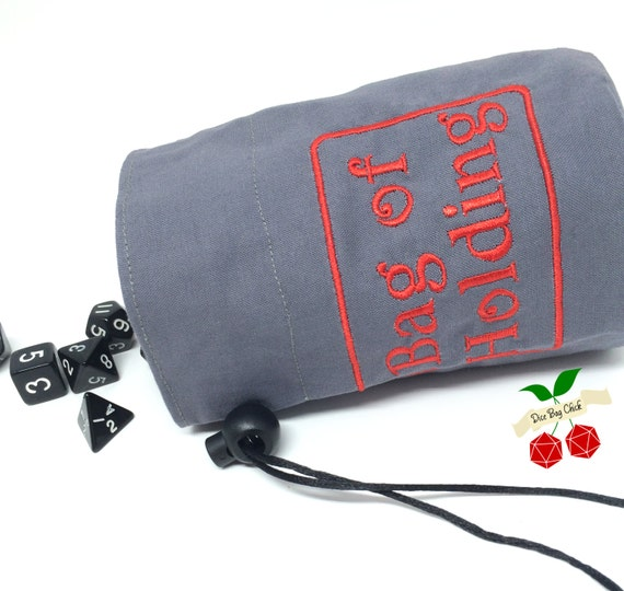 bag of holding dice bag dice holder d d embroidered dice