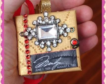 Marilyn Monroe Micro Mini Handmade Album OOAK