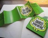 Vintage Cookbook * Hors D'oeuvre's *1969 * Recipes * Illustration * Pop Art