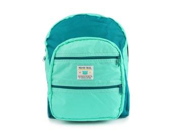 Mint/Jade Big Pocket Backpack