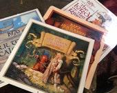 Four Vintage Tolkien Original Brothers Hildebrandt Ralph Bakshi Calendars 1976-1979