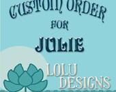 Custom 2017-2018 Vertical Lesson Planner for Julie