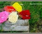 SALE:Gyp-Babys Breath-Red gyp-yellow gyp-pink gyp or orange gyp -  4 oz bundles-wedding fillers-dried floral-Gypsy bloom