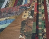 Jelly Roll Fabric Designs with Two Free Strips For Men Only