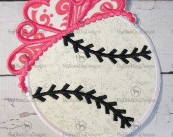 Tiara Sports Balls- Iron On or Sew On Embroidered Applique  READY TO SHIP in 3-7 Business Days