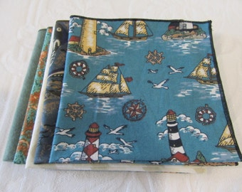 Cloth Napkin Set of Lunchbox Napkins #7