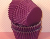 Designer Purple Plum Heavy Duty Cupcake Liners  (40)