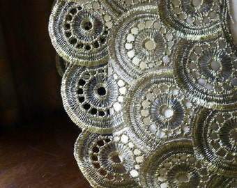 Lace in GOLD  for Garments or Costume Design L