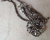 Antique Cut Steel Bird Embellishment