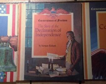 1985 Seven Volume Cornerstones of Freedom Book Set