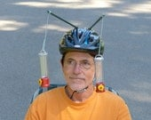 "Hummingbird Feeder Helmet, Adult Size ""Medium"", Be sure to watch the Video"