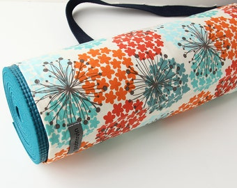 Yoga Mat Bag, Handmade Yoga Bag