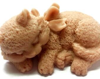 Soap - Sleeping Cat Kitten Soap - 3-D - Pet Owner - Kitty