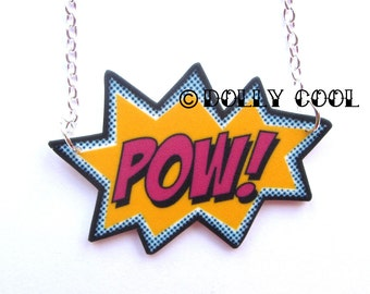 POW Necklace by Dolly Cool