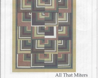 All That Miters pattern (TQC289)  - The Quilt Company